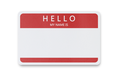 Where Should I Wear My Name BaDge?